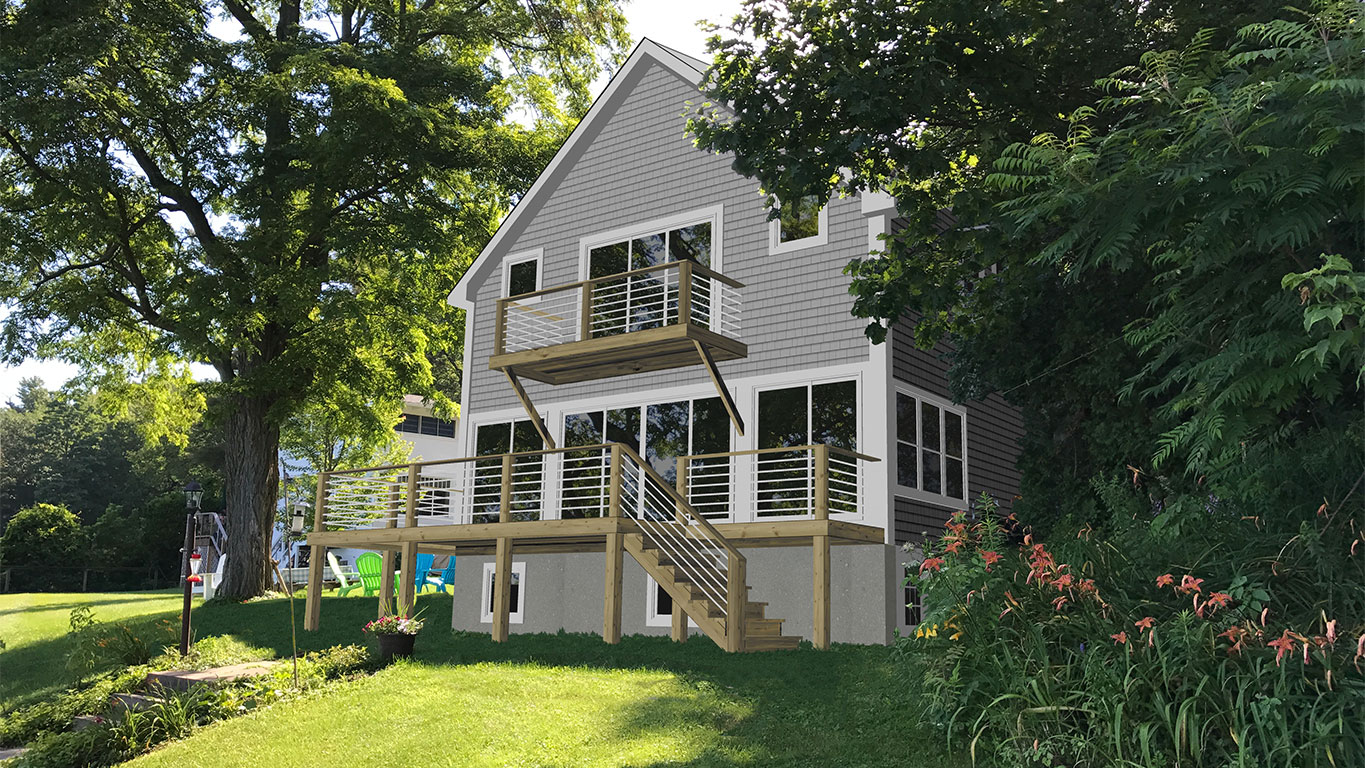 TCE3D Rendering Residential Burlington VT after