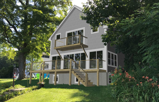 TCE3D Rendering Residential Burlington VT after